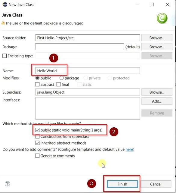 Name-and-stub-method-for-java-class
