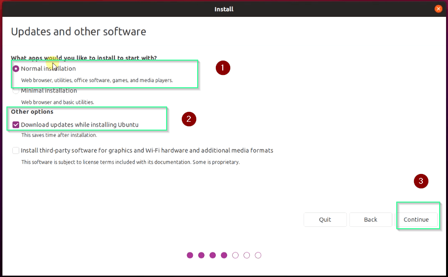 Select-Normal-or-minimal-installation-option