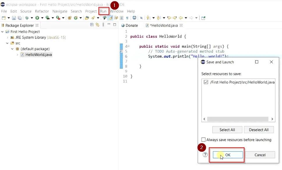 Run-java-code