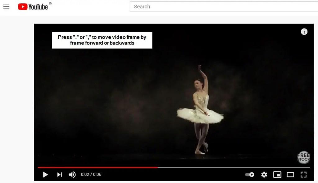 YouTube-frame-by-frame