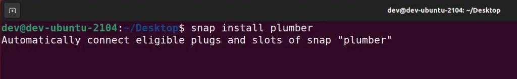 snap-install-plumber-tool