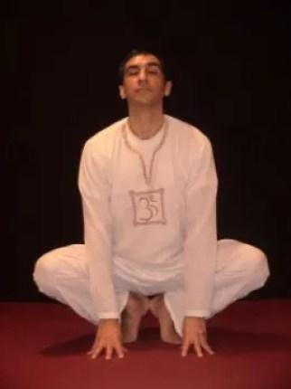 Yoga Frog Pose