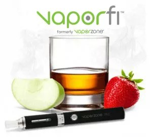 Vaporfi apple bourbon e-liquid cloudnine