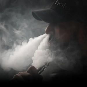 Ecigarette vapor clouds from a high powered vaporizer