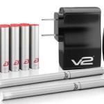 V2Cigs EX Batteries E-Cigarette Review