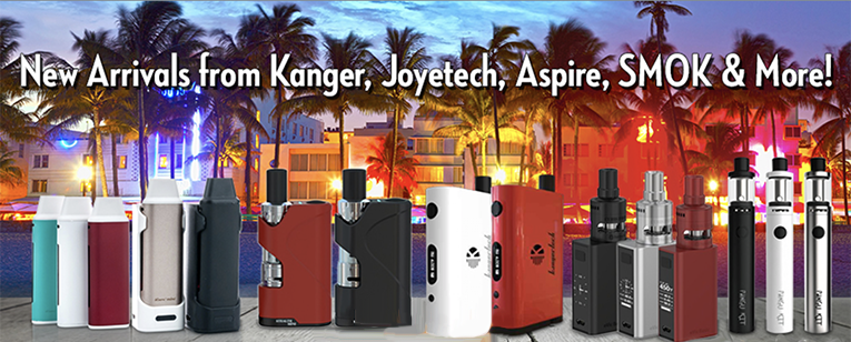 South BeachSmoke Sells Kanger, Joyetech and more