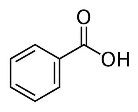 benzoic acid symbol