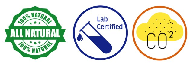 benefits of organic CBD - all natural, lab certified, CO2 extracted