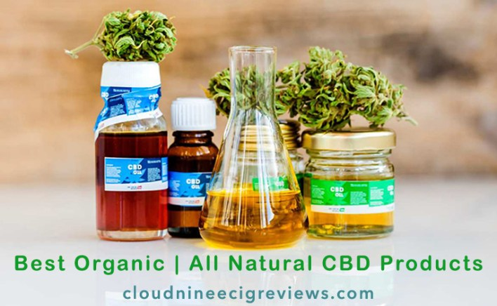Best Organic _ All Natural CBD Products Title Image