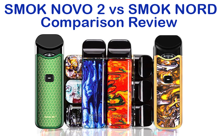 smoke novo 2 vs smok nord comparison Review Featured Image