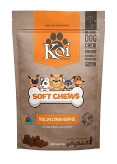 KOI CBD Dog Treats Soft Chews