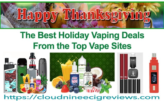 Best Thanksgiving Vaping Sales