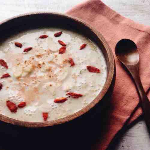 ミランダ カー キヌアの朝ごはん朝食