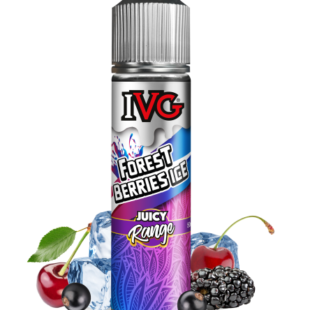 Forest Berries Ice By I VG Juicy 50ml Shortfill