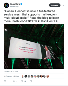 Key takeaways from HashiConf Consul connect