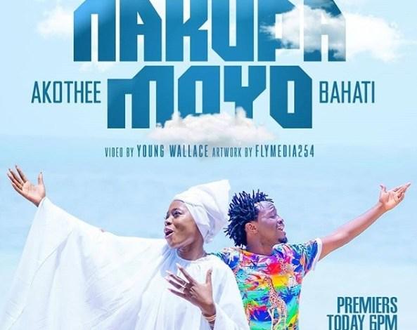 AUDIO: Bahati ft Akothee - NAKUPA MOYO Mp3 Download