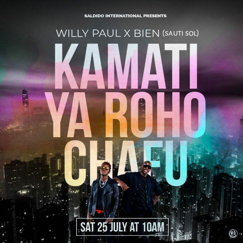 AUDIO: Willy Paul ft Bien - (Kamati Ya Roho Chafu) Mp3 Download