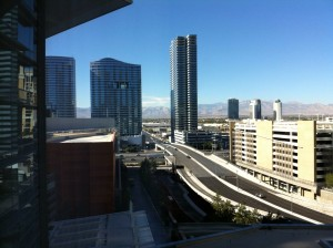 Pillsbury Vegas View from my room
