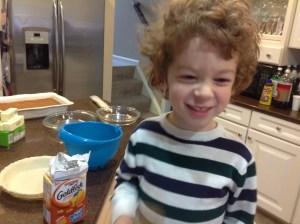 Thanksgiving Dinner Children Love to Help!