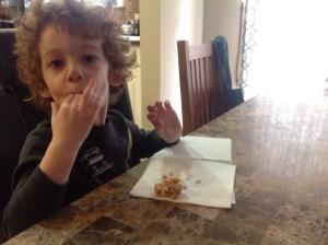 Nut Free Pie Crust Clusters yum