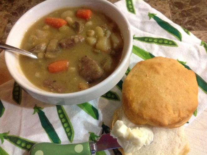 Snow Day Soup. Yum!