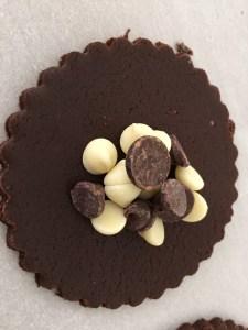 triple chocolate hamantaschen