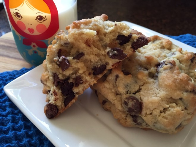 chocolate chip cookie center