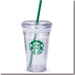 starbucks cold cup