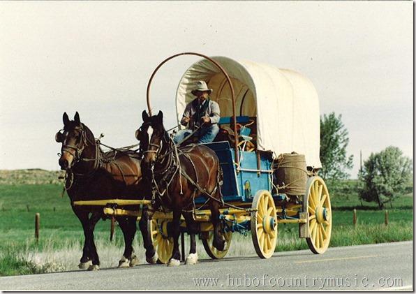 Hub on wagon