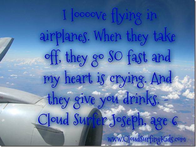 Love air travel