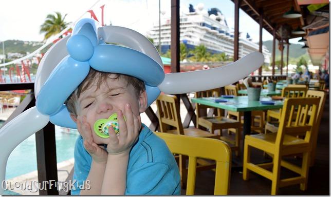 Charlotte Amalie Senor Frogs Funny Balloon Hat