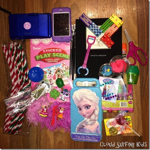 Busy bag for a 5-8 year old