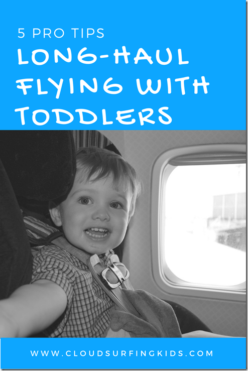 long haul flights with toddlers