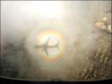 Airplane halo