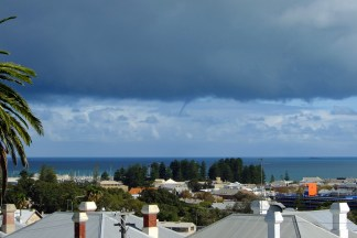 Fremantle waterspout_1
