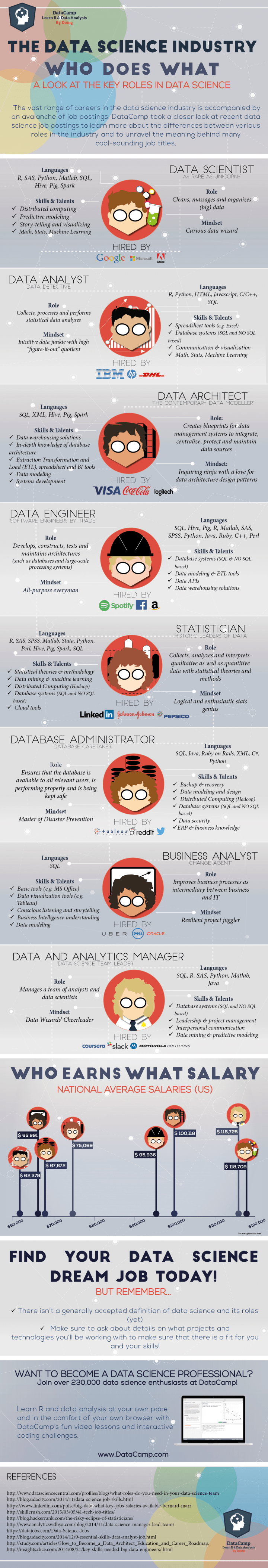 Data Scientist infographic