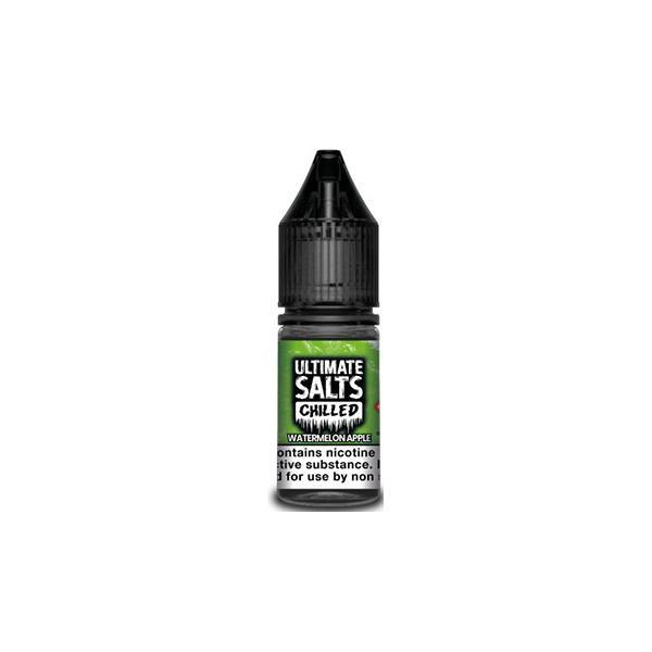 Ultimate Puff Salts Chilled 10ML 10Mg Flavoured Nic Salts E-liquid, Cloud Vaping UK
