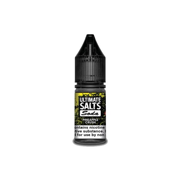 Ultimate Puff Salts Soda 10ML 10Mg Flavoured Nic Salts E-liquid, Cloud Vaping UK