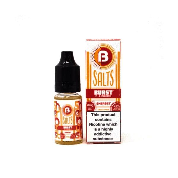 Burst 10Mg Nic Salts 10ml E-liquid, Cloud Vaping UK
