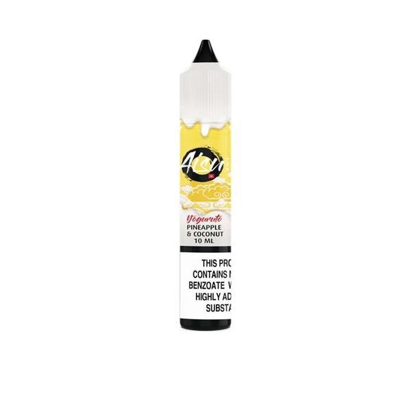 AISU Yoguruto Nic Salts by ZAP Juice 10ml 10Mg E-liquid, Cloud Vaping UK
