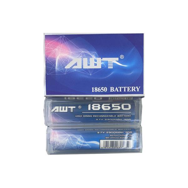 AWT 18650 3.7V 2900mAh 40A Battery, Cloud Vaping UK