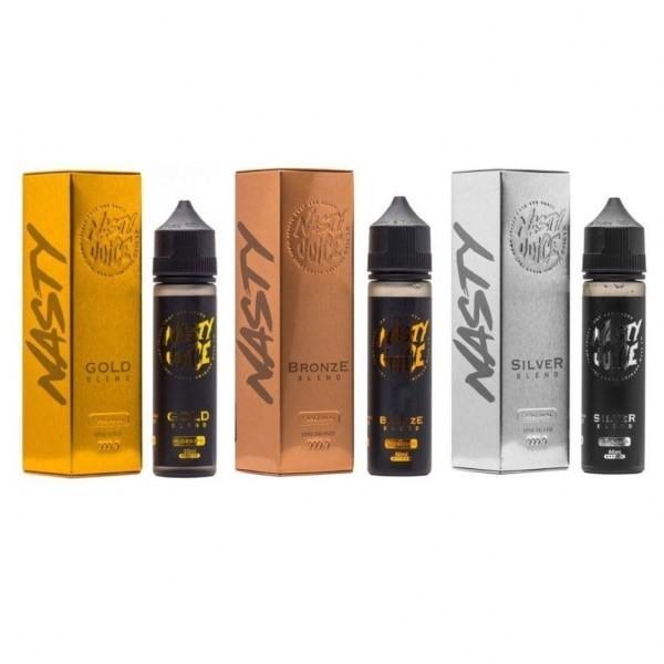 Nasty Tobacco 50ml Shortfill 0mg E-liquid, Cloud Vaping UK