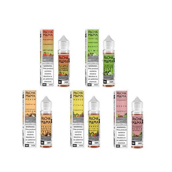 Charlie's Chalk Dust Pacha Mama 0mg 50ml Shortfill E-liquid, Cloud Vaping UK