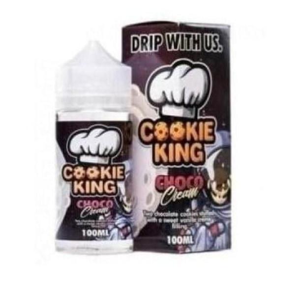 Cookie King 0mg 120ml Shortfill E-liquid, Cloud Vaping UK