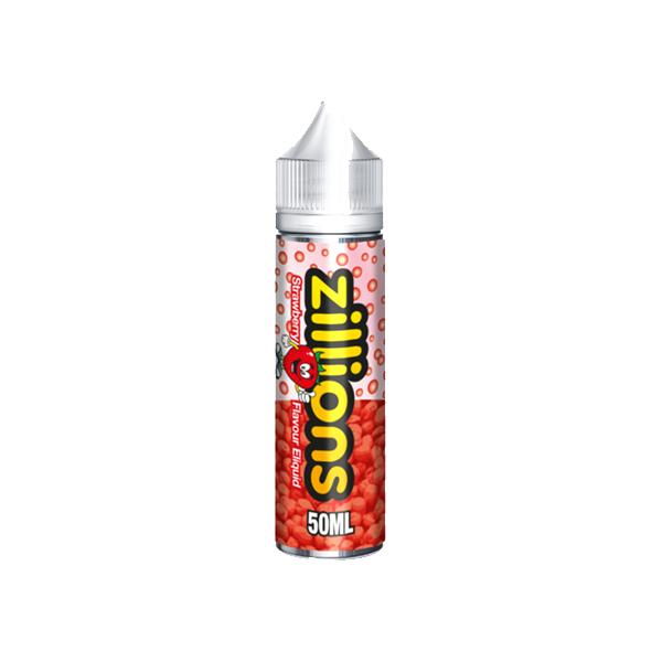 Zillions Shortfill E-liquid 50ml, Cloud Vaping UK