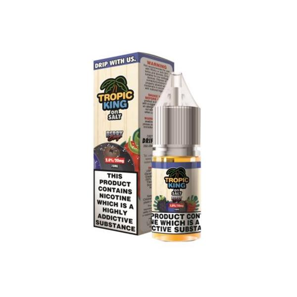 Tropic King On Salt 10ML 20Mg Flavoured Nic Salt E-liquid, Cloud Vaping UK