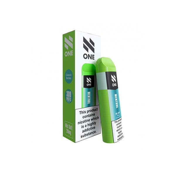 N One Disposable 20MG Nic Salt Vape Pod, Cloud Vaping UK
