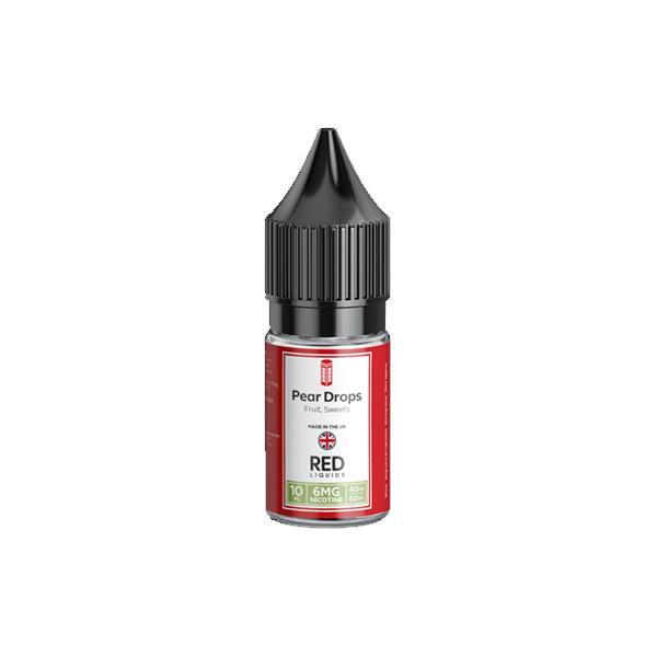 Red Classic 6mg 10ML E-Liquids (40VG/60PG), Cloud Vaping UK