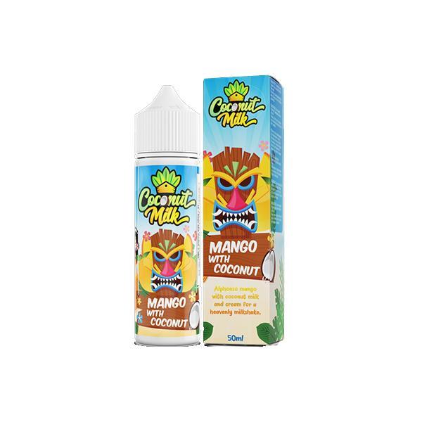 Coconut Milk Shortfill E-liquid 50ml, Cloud Vaping UK
