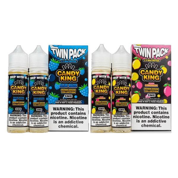 Candy King Bubblegum Edition 100ml Shortfill E-liquid, Cloud Vaping UK